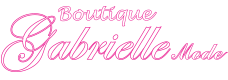 Boutique de vêtements Gabrielle Mode Logo